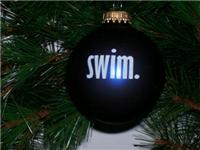 """Swim"" Christmas Ornament"