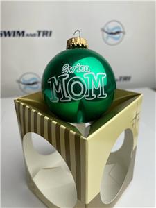 Swim Mom Ornament