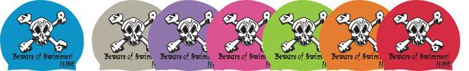 Beware of Swimmer -- Silicone Cap