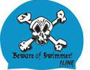 Beware of Swimmer -- Silicone Cap