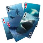 Sharks In Motion, Waterproof Playing Cards