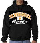 Tennessee Aquatics Hoodie -- Black