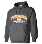 Tennessee Aquatics Hoodie -- Charcoal