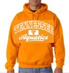 Tennessee Aquatics Hoodie -- Orange