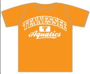 Tennessee Aquatics -- Family Member Shirt -- Orange