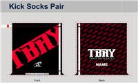 TBAY Custom Kick Socks Pair