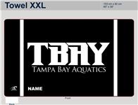 "TBAY Custom XXL Microfiber Towel - 60""x36"""