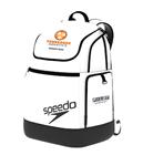 TNAQ White Backpack 2.0 w/Logo