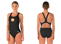 Tennessee Aquatics Thick Strap Suit w/logo