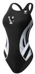 Vicksburg Swim Association - Female Thick Strap Suit w/logo