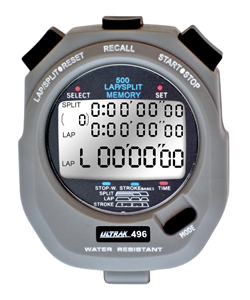 Ultrak 496 500 Lap Memory Stopwatch