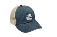 Watermill WaveRiders Pigment Dyed Trucker Hat w/Logo