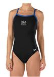 West Mobile Swim Club Thin Strap Suit w/Logo