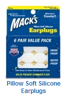 Mack's Pillow Soft Earplug -- 6 pack