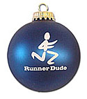 runner dude ornament