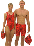 Spiderweb Female Suit