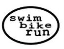 Swim Bike Run Magnet