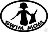 Swim Mom Magnet