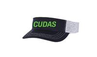 Broadstone Barracudas Visor w/Puffy Cudas Logo